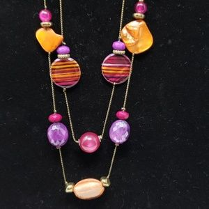 Ruby Rd purple necklace